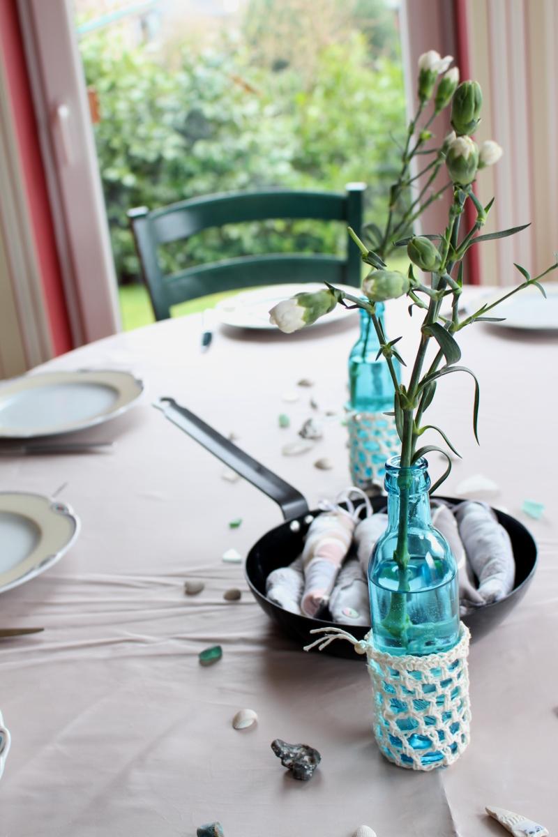 Heringe-genäht-Tischdeko-blau