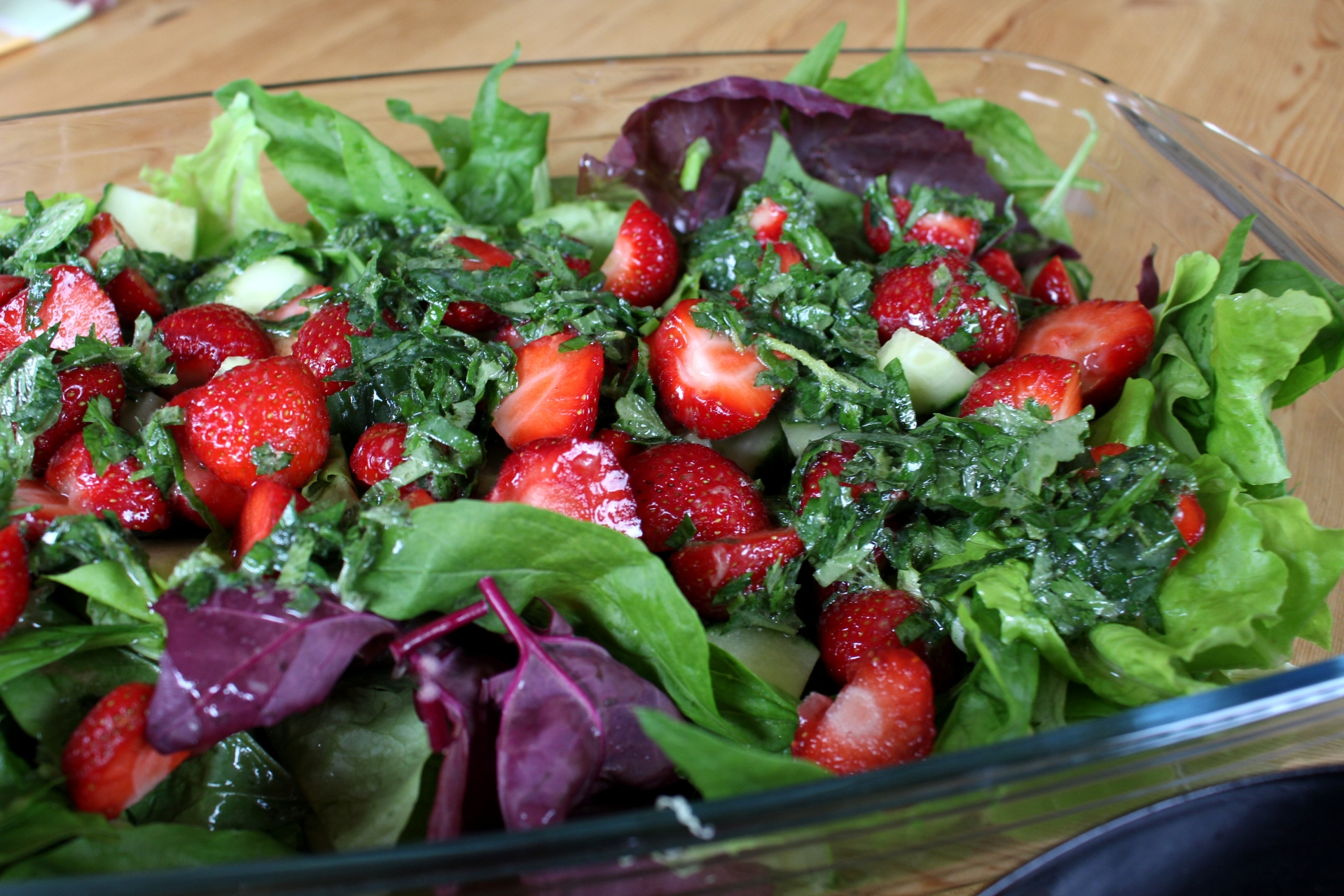 Erdbeer-Melisse-Babyspinat-Salat08