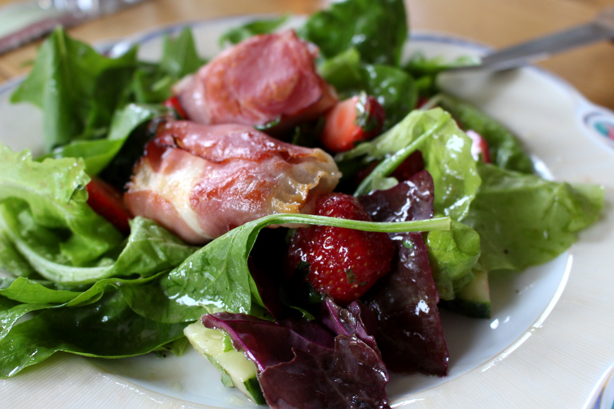 Erdbeer-Melisse-Babyspinat-Salat16