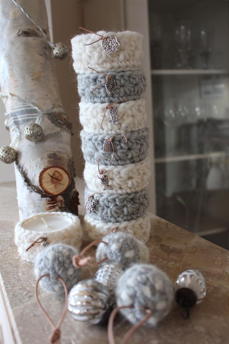 Filzwolle-verhäkelt-Teelichter-Pilze-Charms