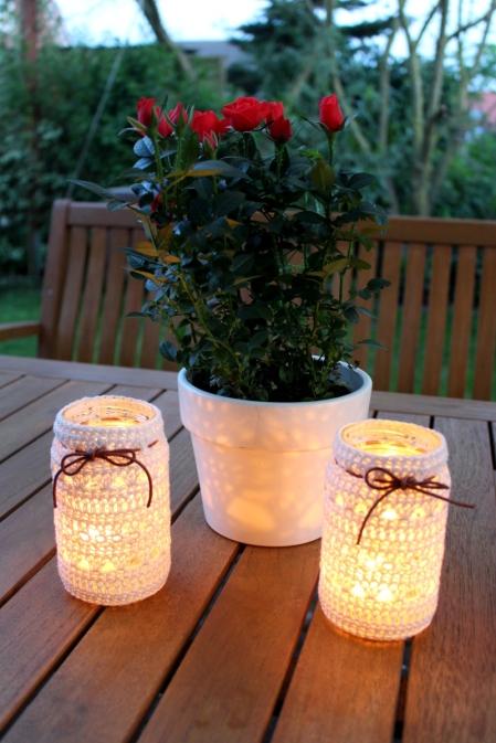 Teelichter-gehäkelt-Schraubglas-Upcycling10