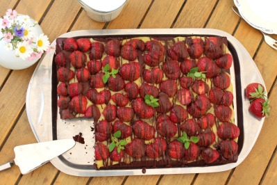 veganer-Brownie-Erdbeerkuchen16