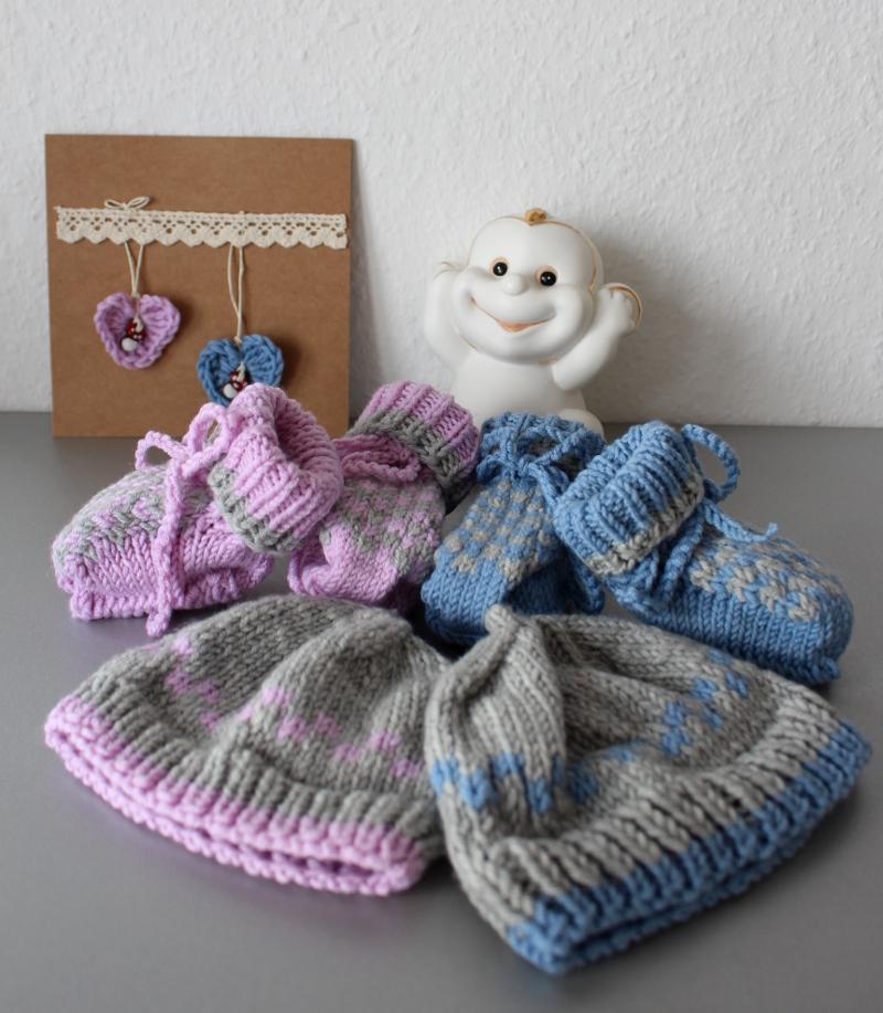 Baby-Mützchen-und-schühchen-gestrickt19