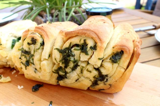 Bärlauch-Knoblauch-Brot14