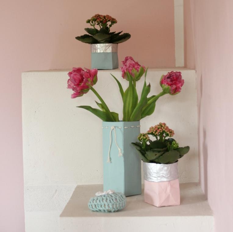 Tetrapack-Blumenvase-Übertopf02