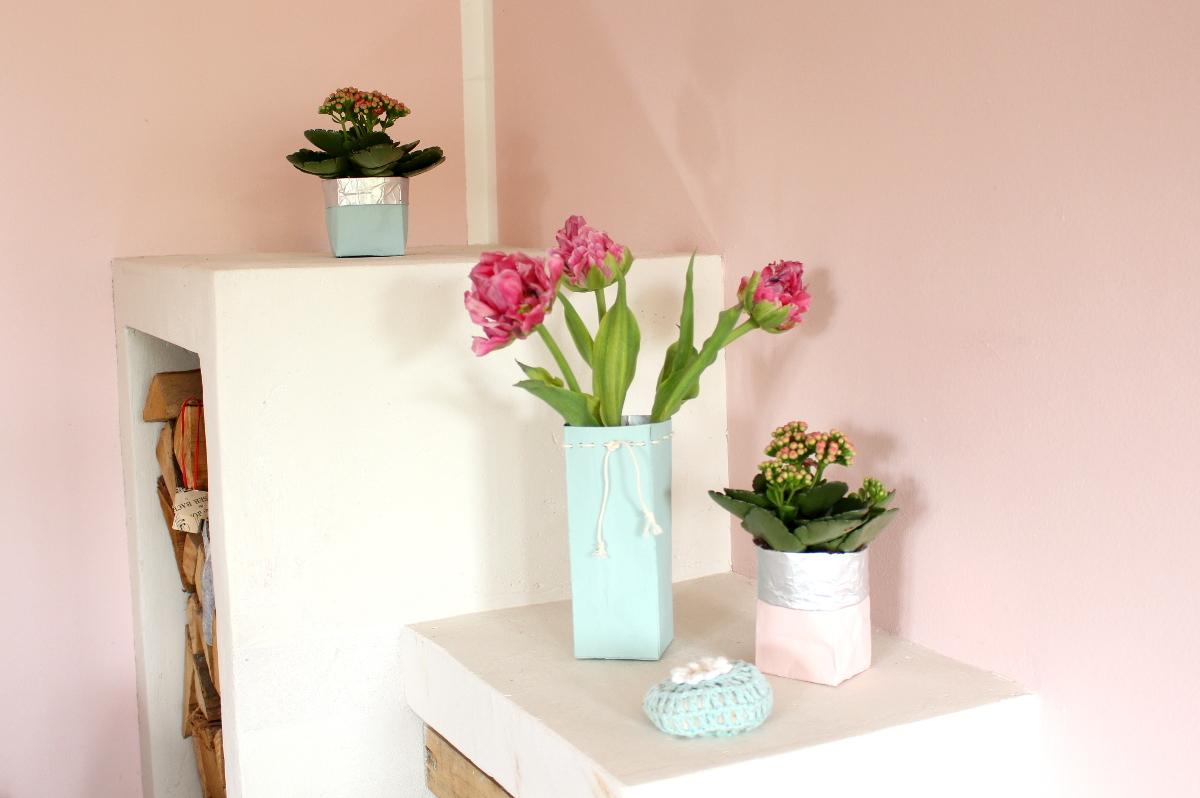 Tetrapack-Blumenvase-Übertopf04