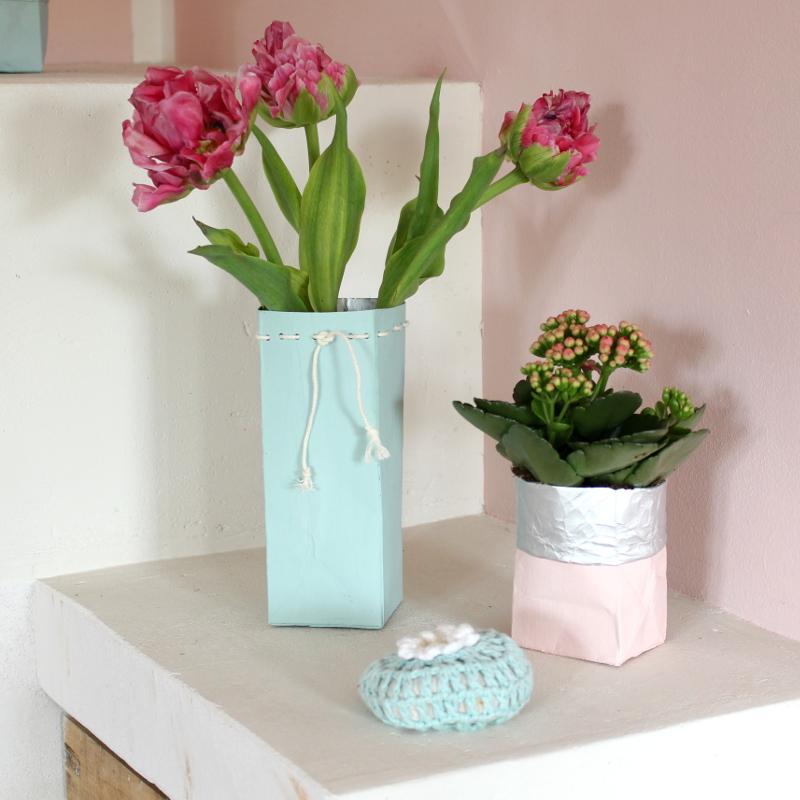 Tetrapack-Blumenvase-Übertopf05