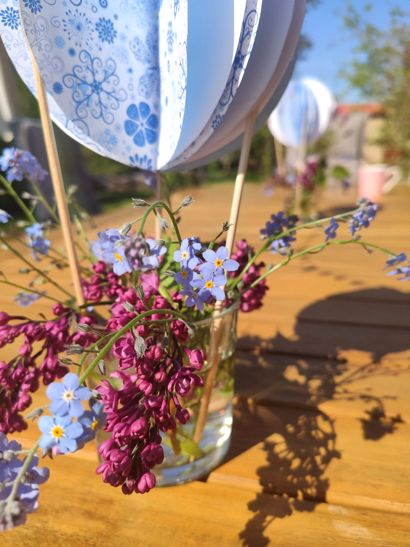 Heißballon-Blumendeko03