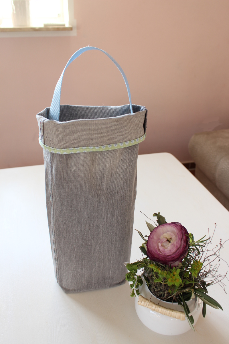 Hosenbein-Upcycling-Jeans-Utensilo-Flaschentasche18